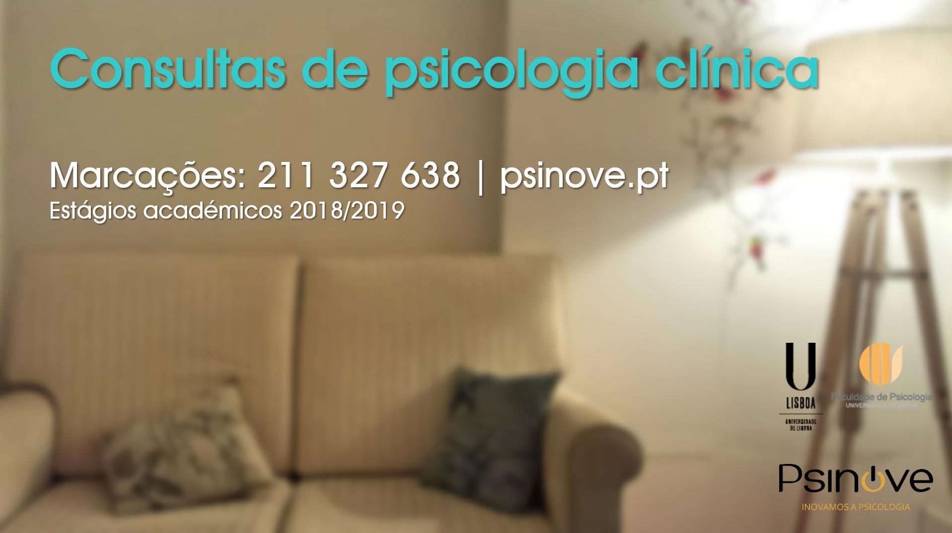 Serviço de apoio psicológico sem custos