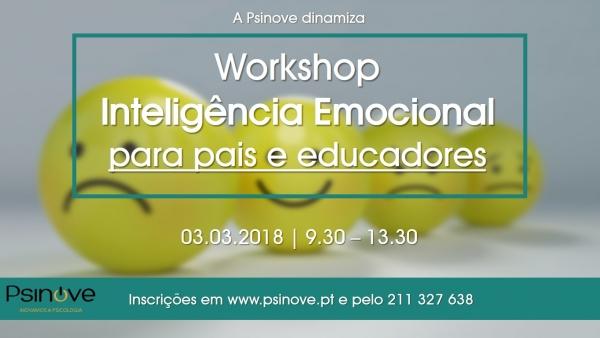 Workshop Inteligência Emocional para pais e educadores