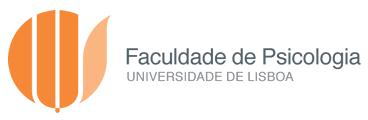 Faculdade de Psicologia Universidade de Lisboa